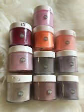 Gelish Harmony Dip Acrylic Powder Powders Acrylic Nails 10x Pots
