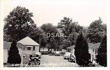 Pennsylvania Pa Photo RPPC Postcard c1950 SCIOTO Main Drive White Cabin Manor