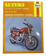 Suzuki GT Motorcycle Workshop Manuals