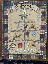 """Decorative/Tole Painting Book by Judy Coates, """"Oh How Cute"""""""