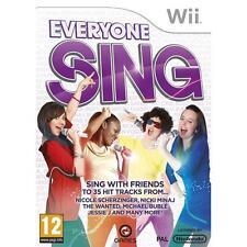 Everyone Sing (Nintendo Wii), Nintendo Wii, Nintendo Wii | 5060015030084 | New