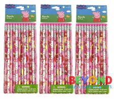 Peppa Pig Wooden Pencils School Supplies Pencils Party Favors