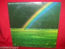 MICHAEL CASSIDY Take me back LP 1980s Italy Mint- Arr. FRANCO BATTIATO