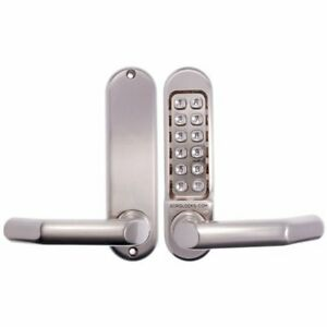 Borg Digital Lockset 5001 Stainless Steel Lock-Push Button-BL5001SS-Free Postage