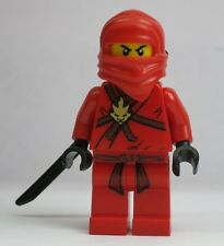 Kai Red Ninjago Ninja 2508 30083 2505 2111 2258 LEGO Minifigure Mini Figure Fig