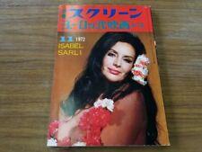 Separate screen Japan movie magazine Isabel Sarli Sexy European Movies vol.13