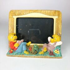Princess House Rare Berenstain Bears 1991 Exclusive Hand Painted Photo Frame