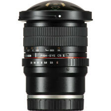 Samyang 8mm f/3.5 UMC Fisheye CS II Lens for Sony E- Mount