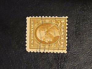US 1916 SC# 465 4c BROWN GEORGE WASHINGTON Used Great Find  - # 1629