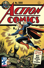 ACTION COMICS #1000 1940'S CHO VARIANT DC COMICS SUPERMAN MILESTONE