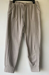 Free People Movement Women's Large Work It Out Joggers Sweatpants Grey NWT