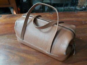 Vintage Small Doctors Style Leather Bag/Handbag