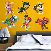 Paw Patrol Kids Boy Girls Bedroom Vinyl Color Wall Decal Art Sticker Gift New