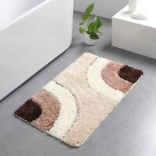 Bath Mat Water Absorption Rug Geometric Carpet Floor Mat Anti Slip Non Slip Rugs