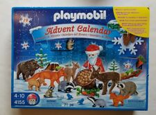 Sealed Playmobil Christmas In The Forest 4155 Advent Calendar 2007