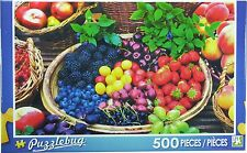 NEW Puzzlebug 500 Piece Jigsaw Puzzle ~ Berry Fruits  FREE SHIPPING