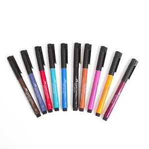 Faber Castell Pitt Artists Brush Pens - Single  Artists Ink Drawing Pen.