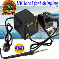 Soldering Iron Station 60W Lead Free Solder ESD LED Display 936D Welding Milling