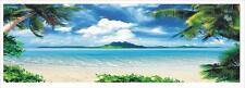 "NOT FRAMED 60"" Canvas Prints Wall Art Modern Photo Painting Ocean Beach Seascape"