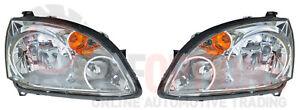 NEW GENUINE Mitsubishi 380 DB ES LH & RH Headlamp Set - Complete Assemblies
