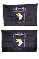 3x5 Embroidered Airborne 101st Division Double Sided 2ply 300D Nylon Flag