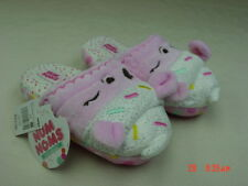 NWT Young Girls Num Noms Ice Cream Scuff Slippers Pink Warm Cute Kid footwear