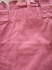 """Woolrich Home Red Cotton Cafe Tab Top 17"""" X 53"""" Valances"""