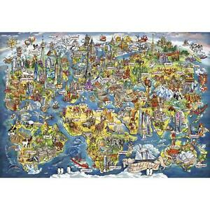 Gibsons Wonderful World JIgsaw Puzzle (2000 Pieces)