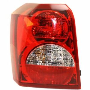 FOR 2008 2009 2010 2011 DODGE CALIBER REAR TAIL LAMP LEFT DRIVER  5160361AA