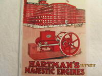 1916 Hartman Co Majestic Gas Engine Catalog All sizes, hit miss, mags, pumps