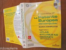 .La patente europea del computer versione office xp pezzoni vaccaro con cd rom