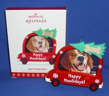 Hallmark Ornament You Lucky Dog Antiques 2014 Flea Market Re-Purpose Junk to Art