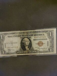 1935A One Dollar Silver Certificate HAWAII WWII Emergency US Currency Brown Seal