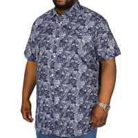 Duke D555 Mens Big Tall Kingsize Langford Short Sleeve Viscose Shirt