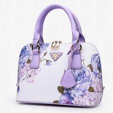 Womens Hobo Tassel Large Handbag Flower Print Shoulder Bag Cross Body Satchel
