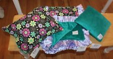 Nwt 60% Off Simply Sorbet Thank You Baby Bedding Blanket & 2 Pillows Minky Soft