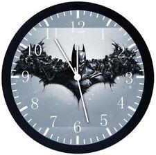 Batman Black Frame Wall Clock Nice For Decor or Gifts E58