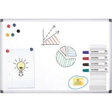 Office Depot Aluminium Frame Magnetic Whiteboard 900H x 1200Wmm