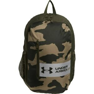 Under Armour UA SCHOOL COLLEGE Roland Laptop Bag Rucksack CAMO Backpack NEW