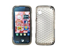 Custodia Protettiva In Silicone Gel Nero Diamante ~ LG GS290 Cookie Fresh