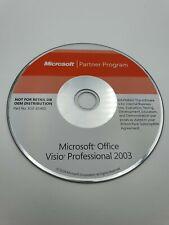 More details for microsoft office partner program - visio professional 2003 - no cd key