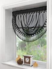 SERENITY  MACRAME VOILE SWAG / SWAGS CURTAIN ~ Decorative Drapes Pelmet Valance