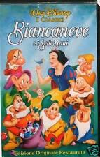 BIANCANEVE E I SETTE NANI - WALT DISNEY 1994 - VHS