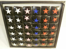 Lot of 36 Acrylic Star Rings Wholesale Jewelry Display Included Closeout Ring