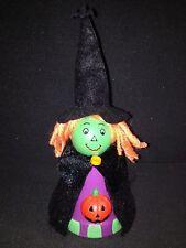 Handcrafted/Handmade Halloween Flowerpot Witch