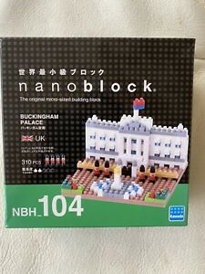 Nanoblock Sights To See Buckingham Palace - NBH_104 Micro Building Blocks Sealed