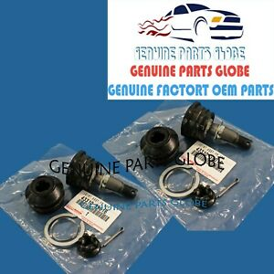 GENUINE TOYOTA SEQUOIA 4RUNNER TACOMA TUNDRA RH & LH FRONT UPPER BALL JOINT SET