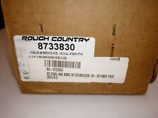 Rough Country Ford Bronco, F150, F250, F350 Dual Steering Stabilizer 1980-96 4WD