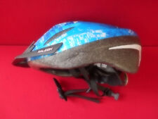 RALEIGH Adult Helmet Bike Bicycle in Blue/White Size M 54-56cm In V.G.C