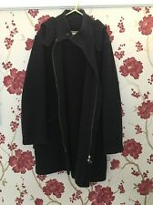 Mens Long Burberry Duffel Coat Thomas Burberry Navy Large Wool Hooded Trench Zip